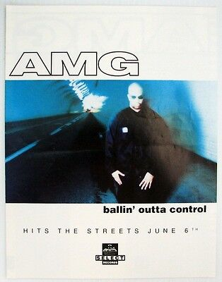AMG Ballin' Outta Control  1995 New Release Order Sheet