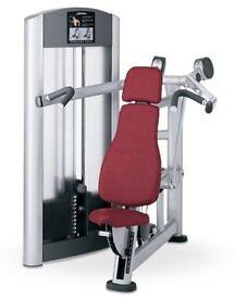 Life fitness shoulder press, £4,900 new