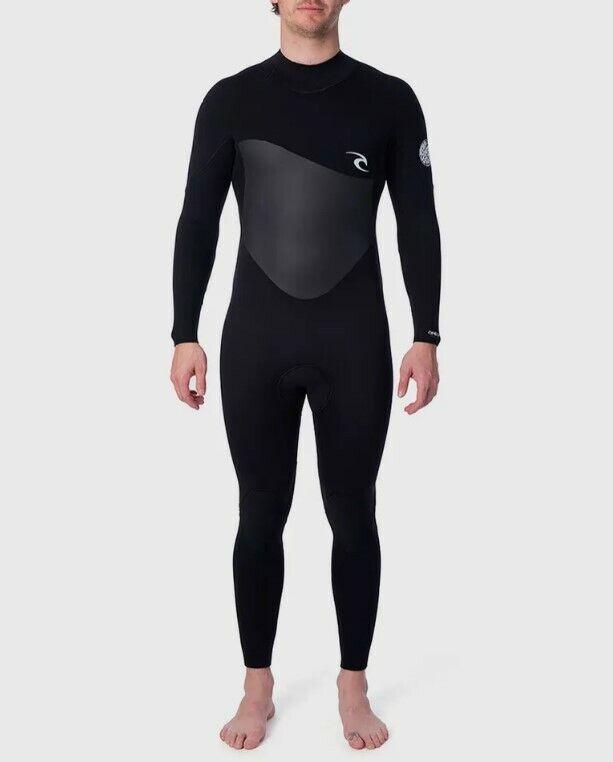 Rip Curl Men's Omega 4/3mm Back Zip Full Wetsuit - WSM8JM -