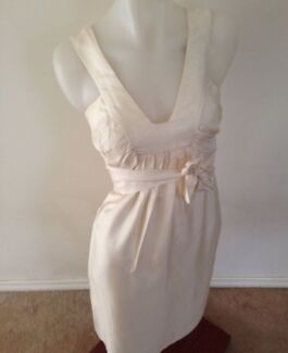 SATCH Silk Creme Dress Epping Whittlesea Area Preview
