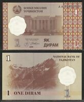 Tajikistan - 1 Diram 1999 Pick 10a Unc -  - ebay.it