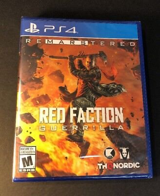Used, Red Faction Guerrilla [ Remarstered ] (PS4) NEW for sale  Shipping to Nigeria