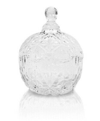 Glass Jars With Lids (NEW Glass Container Apple Shape Candle/Candy Jar with Lid 9 oz - Free)
