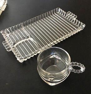 Glass Snack Trays | eBay