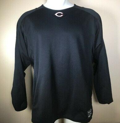 Vintage Chicago Bears NFL Logo Mens Black Pullover Sweatshirt (Nfl Chicago Bears Sweatshirt)