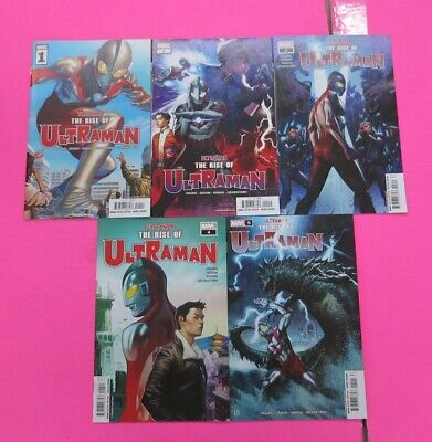 RISE OF ULTRAMAN 1,2,3,4,5 Comic MARVEL 2020 5 Lot Mini Series Complete - $32.95