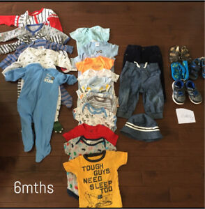 Baby Boy Clothes 6-12mths