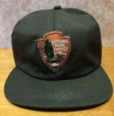 Vintage NPS Arrowhead National Park Service Hat, NPS Winter Ball Cap