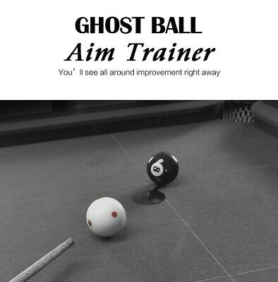 Pool Ghost Ball Aim Trainer Billiards Accessories Training Equipment (Pack of 2)