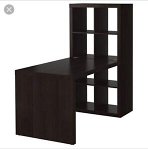 IKEA Expedit Desk and Bookcase