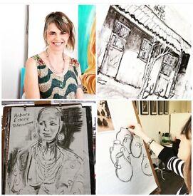 Live Art Saturday with artist Zoe Akroyd Parker