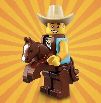 LEGO MINIFIGURES (71021) - Series 18 - COWBOY COSTUME GUY - New & Sealed!