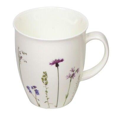 Cup + Mug Fine Bone China Naturwiese Flockenblumen Becher Soul Bone China Fine China Mug