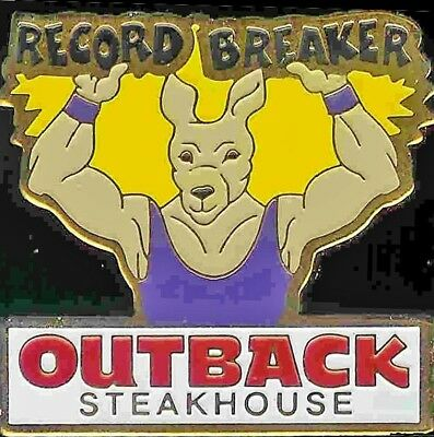 A6471 Outback Steakhouse Record Breaker