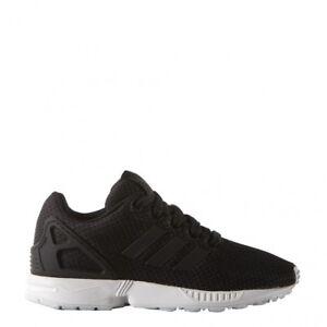 6328b9ce74e77 adidas Originals ZX Flux K Shoes Children Trainers Black M21294 38 2 ...