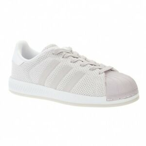 7fce592ba559a Womens adidas Originals Superstar Bounce Trainers in Ice Purple ...