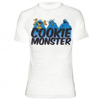 t Men - X3 - White (Mens Sesame Street Shirt)