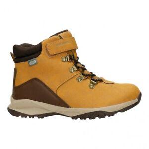 de44b718274 Merrell Alpine Casual Boot Waterproof Shoes Kids Trekking Hiking Leather UK  9 My57095 Wheat