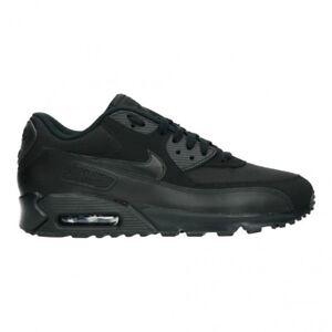 Nike Air Max 90 Essential Herren Sneaker 42 5 schwarz