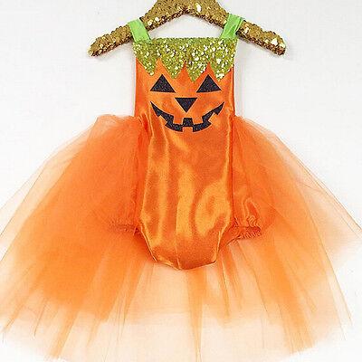 USA Newborn Baby Girls Halloween Costume Romper Tutu Dress Party Clothes   Skirt - Newborn Baby Costumes Halloween