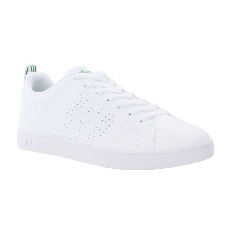 Scarpe Uomo adidas Neo Vorteil Clean VS Bianco Verde tempo libero