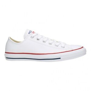 f1194024578 Mens Womens Branded Converse Optical White Leather 132173c Sizes 3 ...