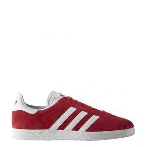 adidas Gazelle SCHUHE rot weiß 43 13 EU