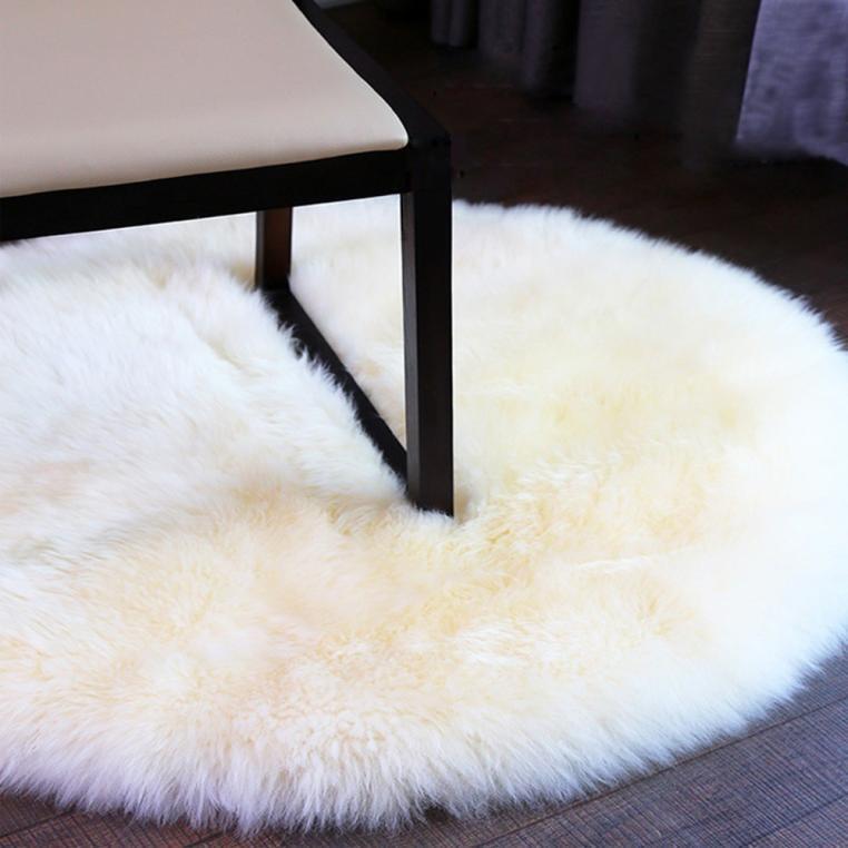 Soffice morbido pelle di pecora Stile Finta Pelliccia camera da letto TAPPETI