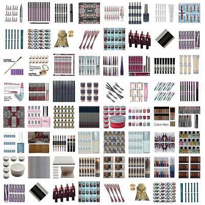 100 wholesale makeup mixed joblot cosmetics bulk lot lipstikcs nail eyeshadow +1