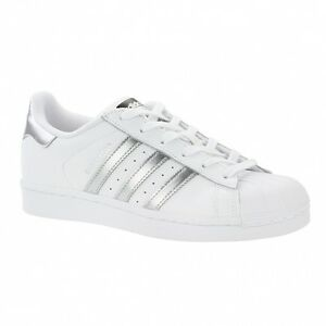 Adidas Weiß 13 Superstar W Eu 43 Schuhe Silber PZTwXOkiu