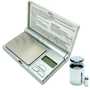 200g-x-0-01g-Digital-Pocket-Scale-01g-Jewelry-Scale-with-Calibration-Weights