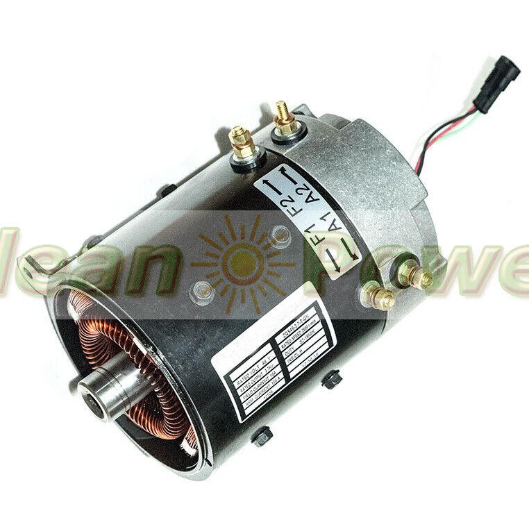 DC Motor ZQS48-3.7-T-GN for Golf Cart