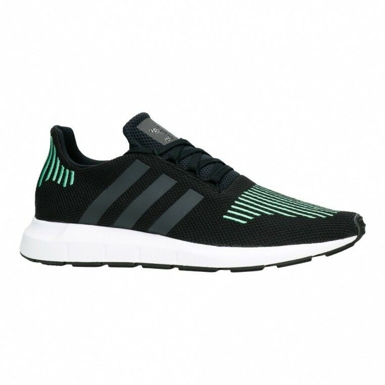 check out ab114 51963 adidas Originals Swift Run Black Green Men Running Shoes SNEAKERS ...