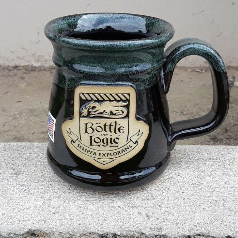 Bottle Logic Brewing RARE Mug green NEW!