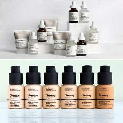 The Ordinary Foundation. Various Samples. 3ml SAMPLE Pot ONLY. UK stock.