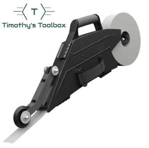 Delko ZUNDER Drywall Banjo Taping Tool w/ Quick-Change Inside Corner Wheel