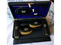 Carlisle & Watts, Edinburgh - Vintage Set of Brushes - Early 20th century