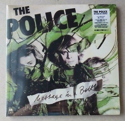 """The Police sealed RSD UK /1000 blue & green vinyl Message In A Bottle double 7"""""""