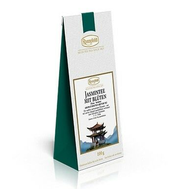 100g Ronnefeldt - Tè gelsomino con Fiori - verde sciolto Tè Tè verde Jasmin