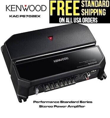 Kenwood KAC-PS702EX Power Amp 500W 2 Channel Bridgeable Car Amplifier KAC-5207