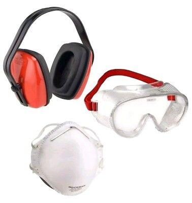 Atemschutzmaske - Arbeitsschutz - Set - 3 teilig - Connex 938793