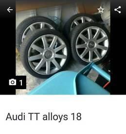 Audi tt alloys 18inch