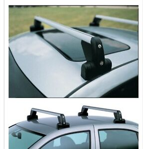 VW Base carrier bars with snowboard/wakeboard/ski attachment