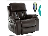 Heat Massage Recliner Chair