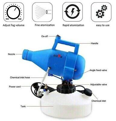 ULV Cold Fogger Fogging Machine  4.5L Disinfection Control Spayer INC VAT