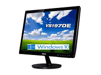 19-inch Asus VS197DE LED Monitor - Boxed