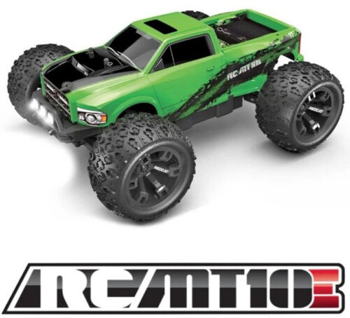 Redcat Racing RC-MT10E 1/10 Scale 4WD Brushless RC Monster Truck Green NEW