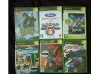 Xbox games x 6