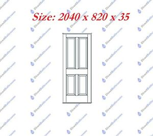 NEW SOLID TIMBER PINE 4 PANEL ENGINEERED INTERNAL DOORS 3 DIFFERENT SIZE ON SALE