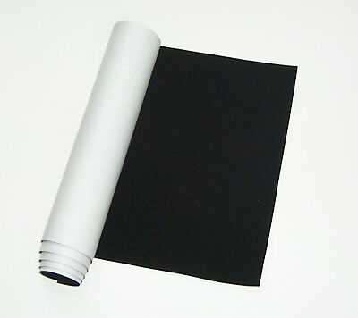ScopeStuff #FLK2 - Black Flocking Material, Self Adhesive, 2 ft x 47 inches